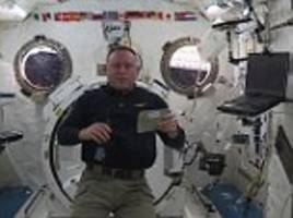 Astronauts reveal space station Thanksgiving menu of irradiated turkey