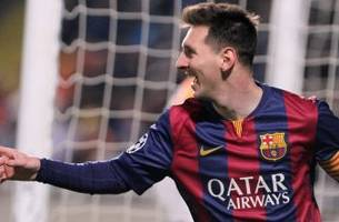 Highlights: Barcelona rout APOEL Nicosia as Lionel Messi makes history