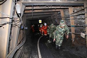 Quake and Fire in China Kill 24 Coal Miners; 52 Injured